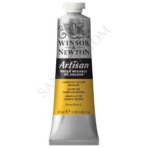 Winsor & Newton Artisan Su ile Karışabilen Yağlı Boya 116 Camium Yellow Medium