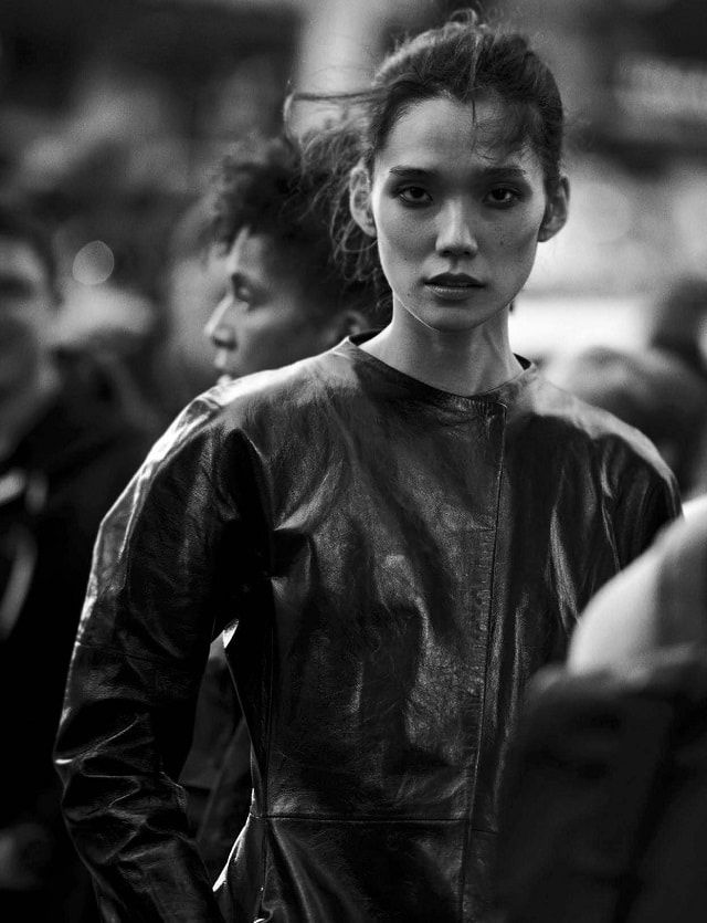 Walking With Peter Lindbergh For Vogue Italia October 2016