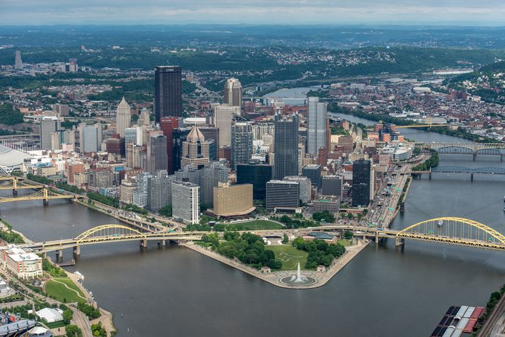 12 Glorious Pictures from High Above Pittsburgh - The 412 - June 2015 #Pittsburgh #Photography