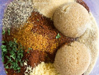 Are you looking for a new recipe for your pork chops and/or pork loins? Well, how about applying a dry rub that involves coffee grounds, brown sugar, and a number of other tasty spices. Find your next new dish here: http://blog.jeremyrichterphotography.com/2012/07/boneless-pork-chops-with-coffee-dry-rub.html.