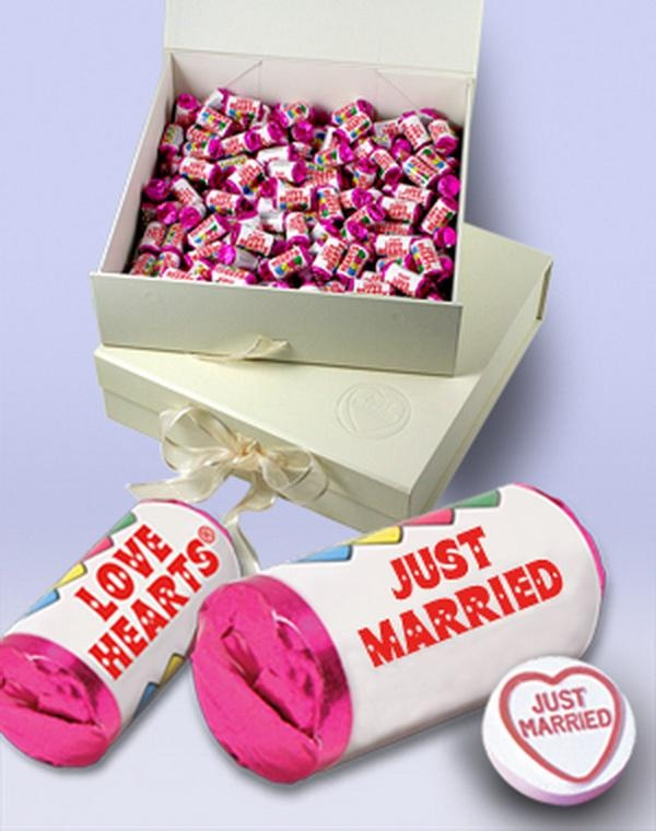 Sweets as wedding favours