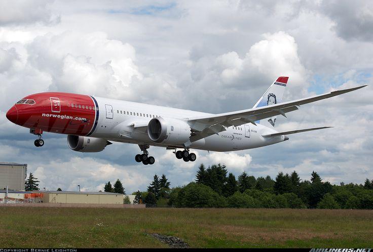 Norwegian Air Shuttle More: Boeing 787-8 Dreamliner