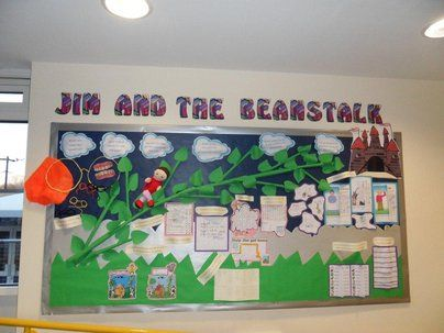 jim and the bean stalk display classroom display class display story book bean stalk. Black Bedroom Furniture Sets. Home Design Ideas