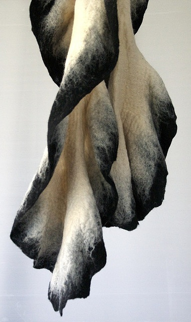 Scarf, part of designer's winter collection 2009. FELT by Irit Dulman & Tal Cohen. via irit dulman on flickr