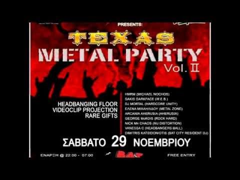 TEXAS METAL PARTY vol. 2 @ BAT CITY - ΣΑΒΒΑΤΟ 29 ΝΟΕΜΒΡΙΟΥ