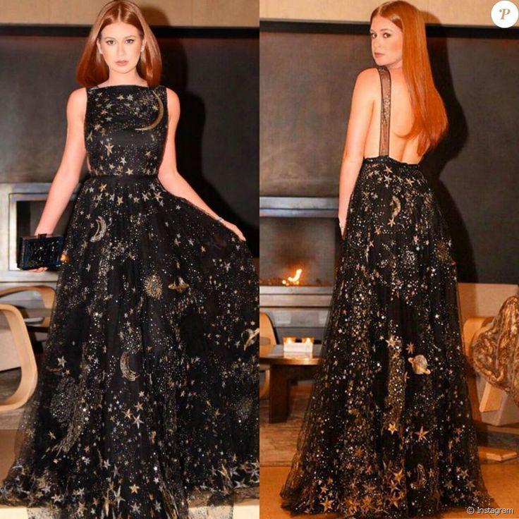 Marina Ruy Barbosa usou vestido Valentino de R$ 84 mil no Emmy Internacional, em Nova York, em novembro de 2015