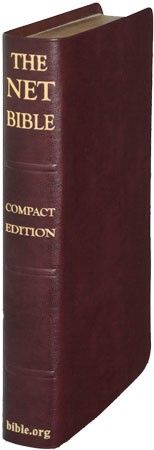 Bible.org: NET Bible Compact Edition - Burgundy