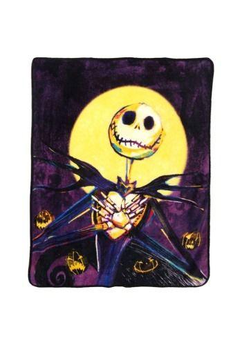 Nightmare Before Christmas Jack Pumpkin Delight Blanket#Jack