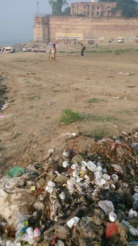 Allahabad Fort. Clean India