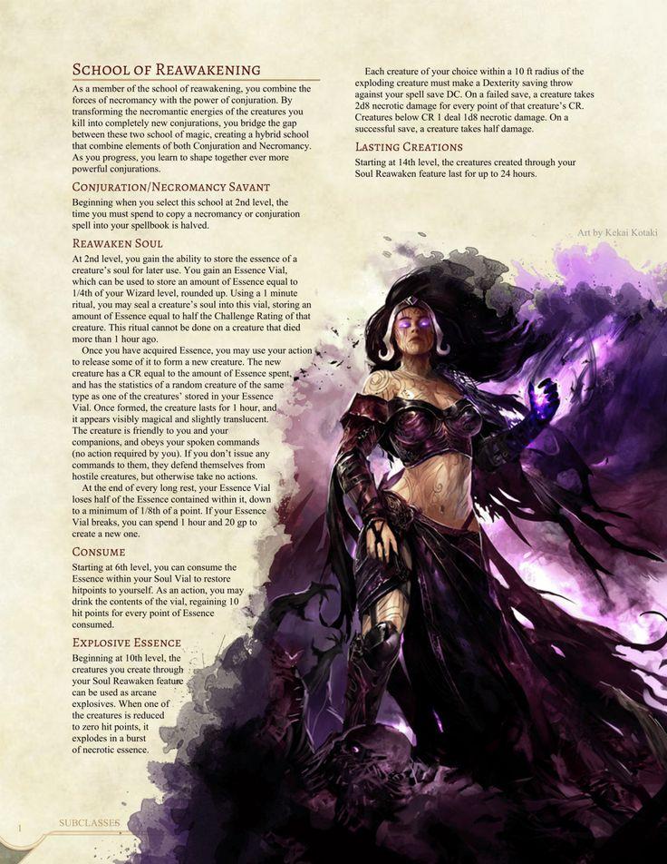 School of Reawakening Wizard by Jonoman3000