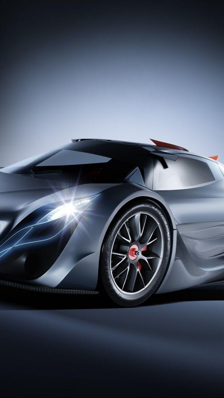 Mazda Furai Concept Car Supercar 720x1280 Wallpaper