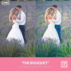 Free Lightroom Preset The Bouquet- CHIC Presets