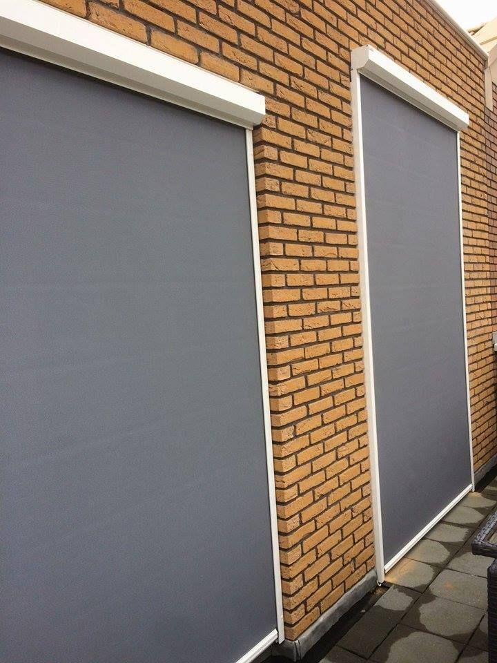 Zipscreens geplaatst in Amsterdam. #rolluiken #screen #zipscreen #ritsscreen #veranda #zonnescherm #knikarmscherm #horren #rolgordijnen #binnenzonwering #kozijnen #rolpoorten #garagedeuren #perfect #jvszonwering #discount #screensinoss