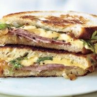 ... Ham and Chimay Cheese Sandwiches with Caramelized Belgian Endive