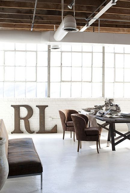 a gorgeous loft by the style files, via Flickr