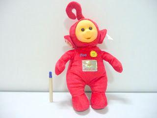 Boneka karakter teletubbies lucu