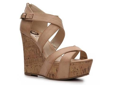 Super Cute for this spring/summer!: Wedge Shoes, Style, Guess Prinzess, Wedge Sandals, Shoes Heels Wedges, Guess Shoes, Prinzess Wedge, Summer Wedges, Shoes Wedge Platform