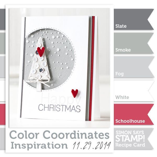 Color Coordinates Recipe Card!! (Simon Says Stamp Blog!)