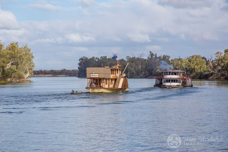 Great shot by Shane Strudwick Images of the Paddle Steamers at the Wentworth Junction Rally. Happening this weekend :)