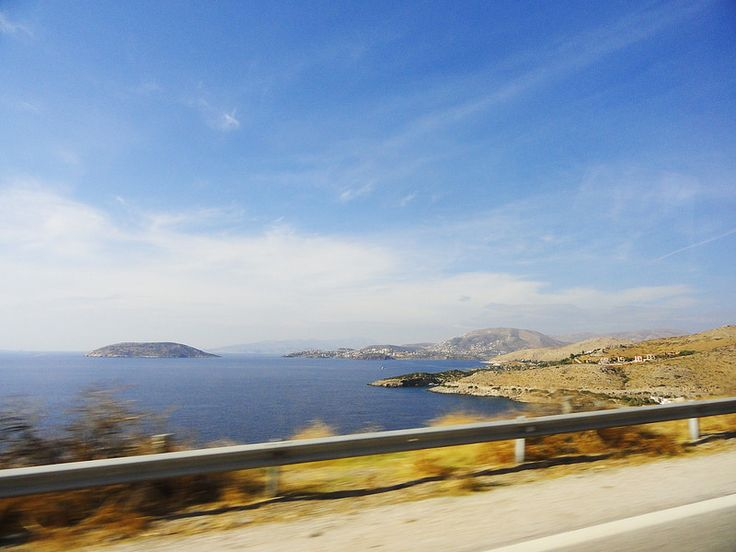 On the way to Cape Sounion