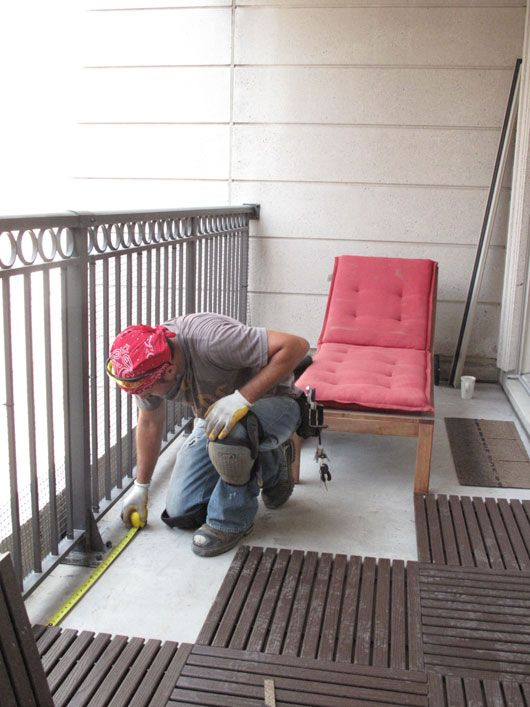 Upgrading your small outdoor space can be as simple as installing new floor tiles to create...