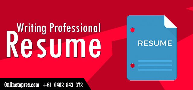 We are Australia's leading providers of Professional Resume riting services at Reasonable prices. If you are a student or you have no work experience, we will help you to write a killer resume for you.