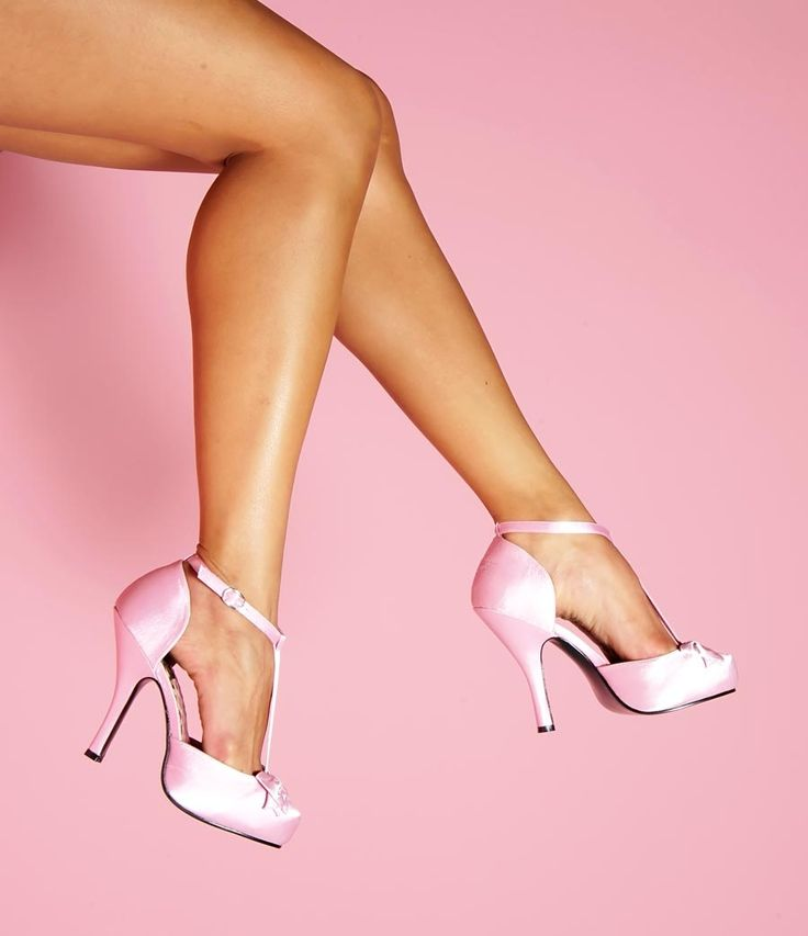 : Platform Pumps, Pink Lollipops, Pink Heels, Couture Shoes, Pinup Girls, Style Pinboard, Pink Shoes, Pinup Couture, Pink Satin