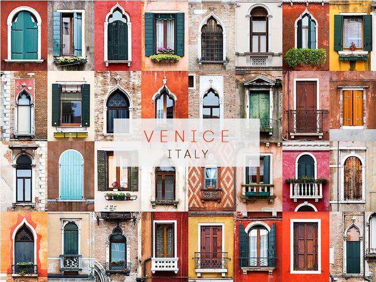 Venice, Italy #windows #doors #photography #AllAroundTheWorld #AndreGoncalves #Photographer #Europe #World #Art #Design #Culture #Community #WindowOfTheWorld #DoorsOfTheWorld #designersdome #inspiration #BeInspired #BeautexLuxuryConcepts #since1963