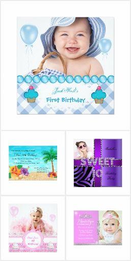 First Birthday Teens Kids Birthday Boy Girl