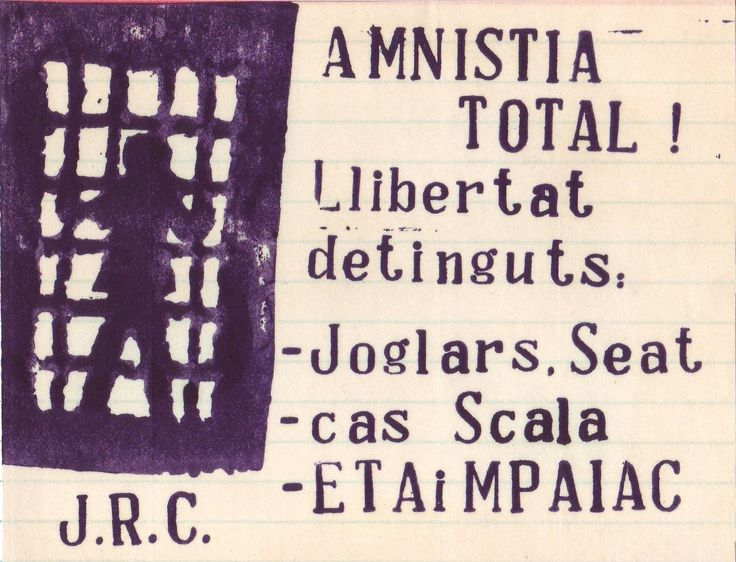 #Scala #-Amnistia #ETA