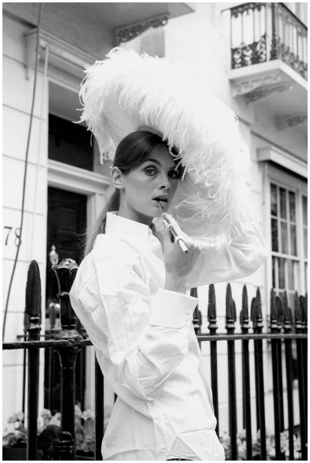English Supermodel Jean Shrimpton