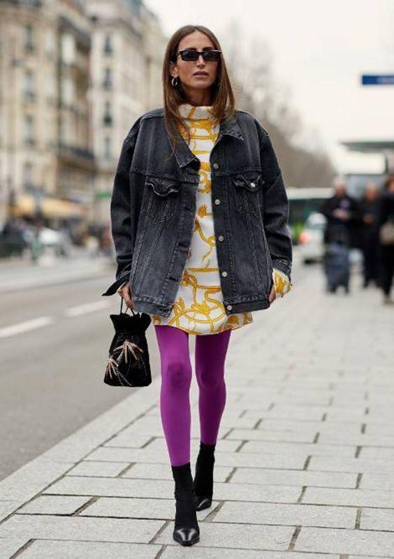 0aca0577754f9 Meia calça colorida, color blocking, como usar, moda, fashion, tendência,  trend, alerta de tendência, trendalert, inverno