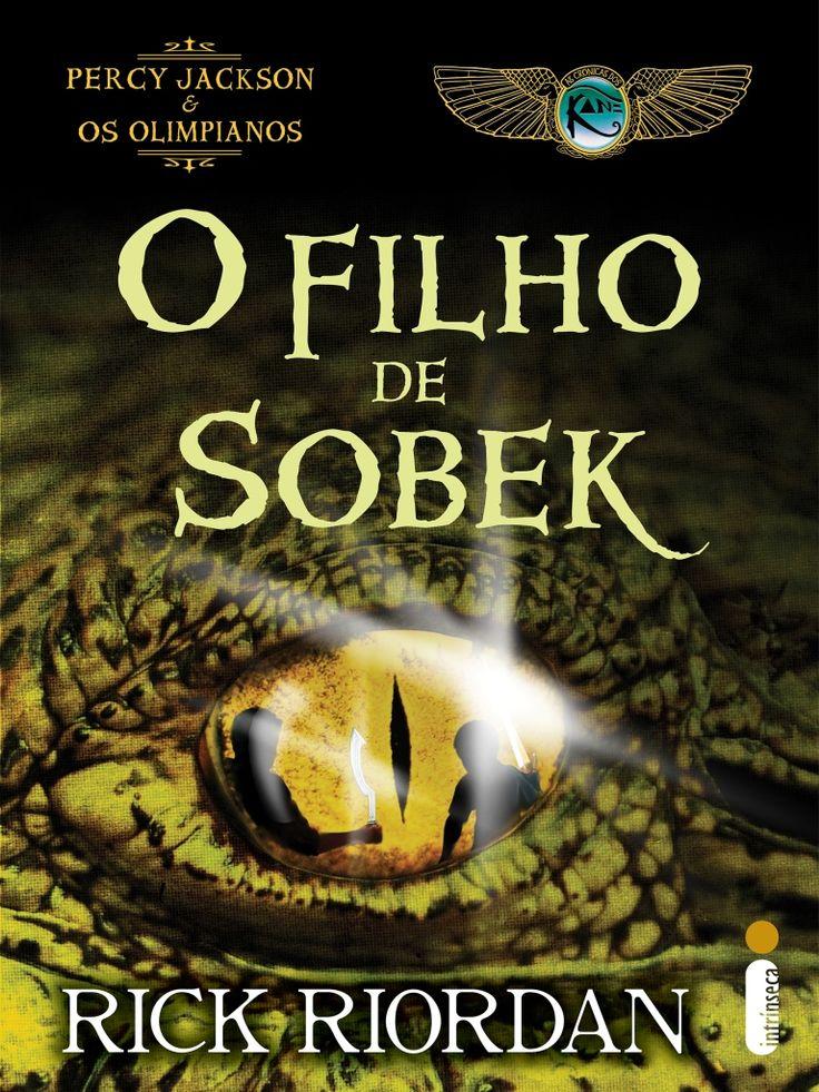 """O Filho de Sobek (Rick Riordan) Carter Kane + Percy Jackson    """"Conversar com Percy estava me dando uma séria dor de cabeça. (…) Nós quase falávamos a mesma língua – magia, monstros, etc. Mas seu vocabulário estava todo errado.""""  http://blablablaaleatorio.com/2013/11/13/o-filho-de-sobek-rick-riordan/"""