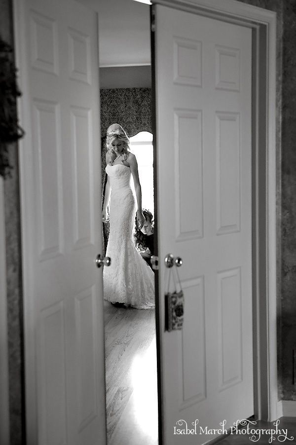 view through the door!-- must take a picture like this!