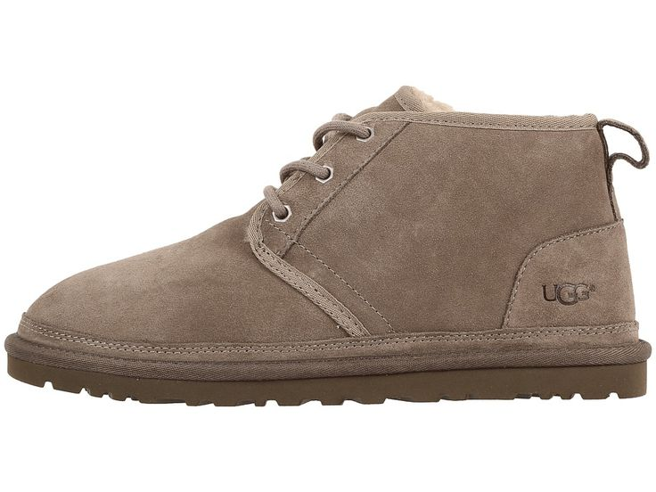 UGG Neumel Men's Lace up casual Shoes Dark Fawn