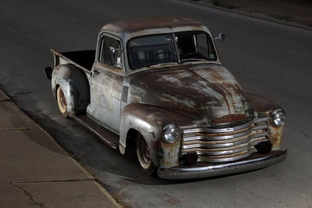 """1951 Chevy truck owned by """"99-to-life"""" in PA"""