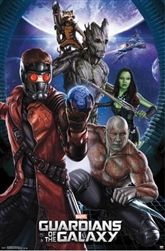 Guardians of the Galaxy - Group Poster