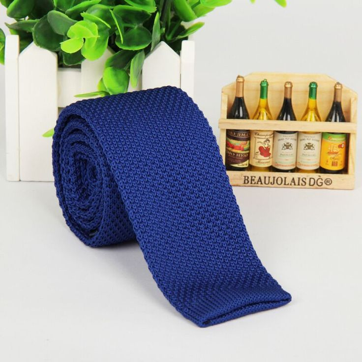 Wool Knit Neckties - 20 Colors