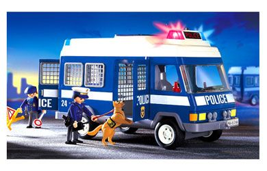 playmobil police van - Google Search