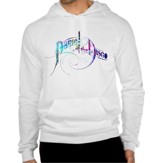 panic at the disco galaxy logo hoodie  size by coollandart on Etsy