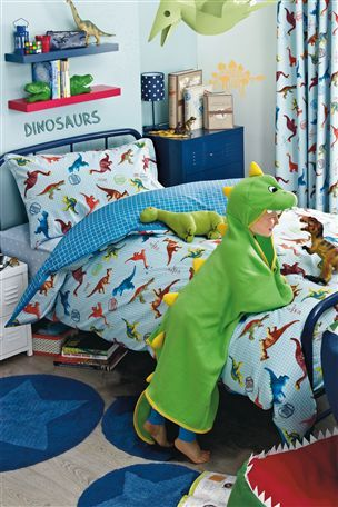 Dinosaur Bed Set....i would need 3 for my gorgeous boys