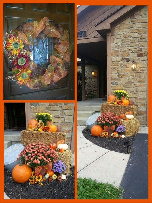outdoor harvest decorations - Fall Harvest Decor