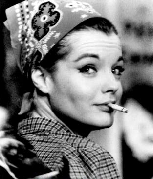 Romy Schneider, French icon who obtained Cesar Award for best actress in 1976 and 1979.