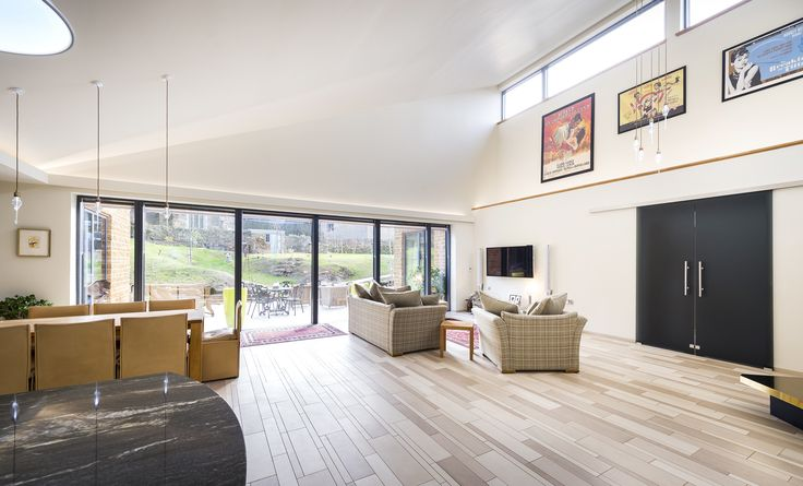 In Broughton village in Cambridgeshire, Leaf Architecture's clients wanted a house that was attractive, contemporary, functional and sustainable; the result is a home with a distinctive design, combining local stone with contemporary styling and using VELFAC glazing to help deliver a low maintenance, low energy building.
