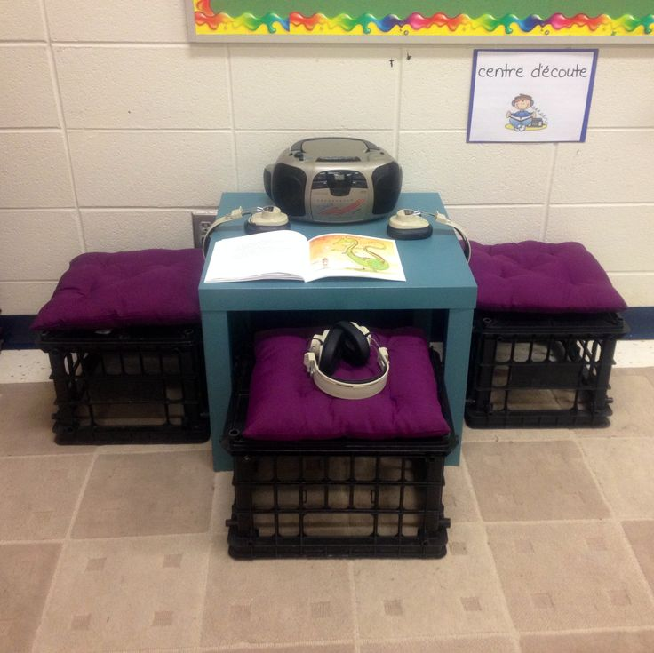 Centre d'ecoute/ Listening centre (grade 1 and 2 immersion)