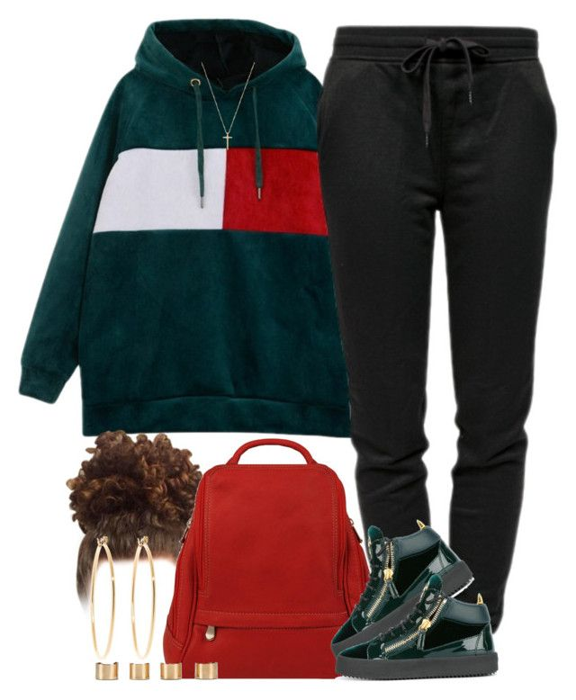 """‍"" by livelifefreelyy ❤ liked on Polyvore featuring T By Alexander Wang, Le Donne, Giuseppe Zanotti, Gucci, Maison Margiela and Brooks Brothers"