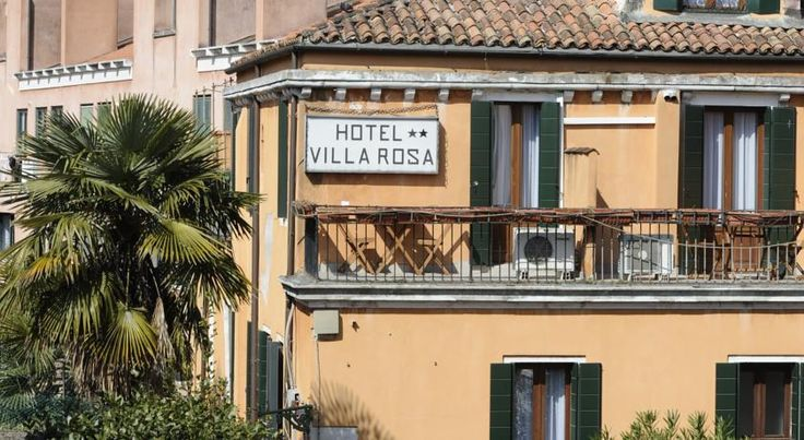 Hotel Villa Rosa Venice Hotel Villa Rosa is a 5-minute walk from Santa Lucia Station in the historic centre of Venice. Your room comes with air conditioning and satellite TV.  The private internal courtyard helps Villa Rosa retain its peaceful atmosphere.