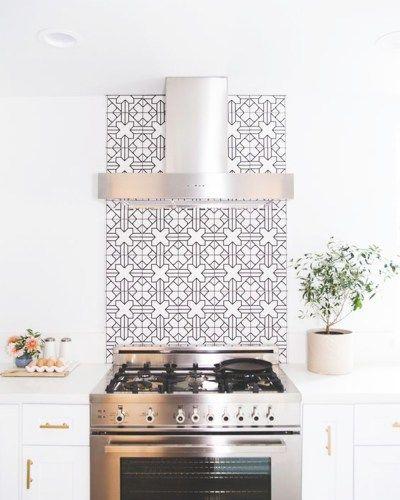 Kitchen Backsplash Behind Range: Best 25+ Moroccan Tile Backsplash Ideas On Pinterest