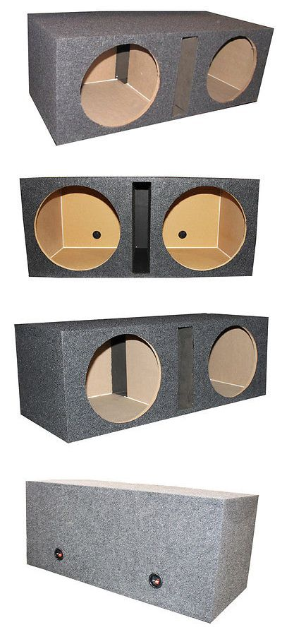 Speaker Sub Enclosures: Q Power Qbass Dual 15-Inch Vented Mdf Subwoofer Box 2 Speakers Enclosure -> BUY IT NOW ONLY: $62.99 on eBay!