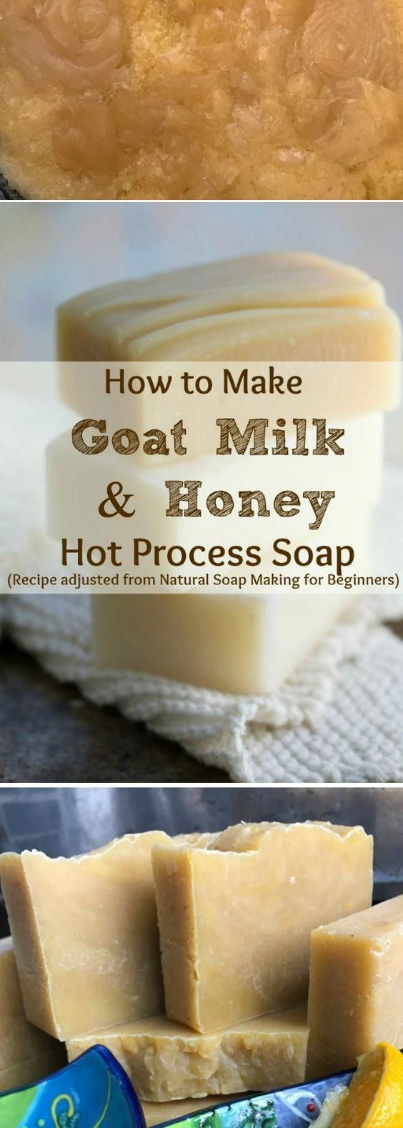 How To Make Goat's Milk & Honey Hot Process Soap (A Quick & Easy Tutorial & Recipe)   – Soap Ideas